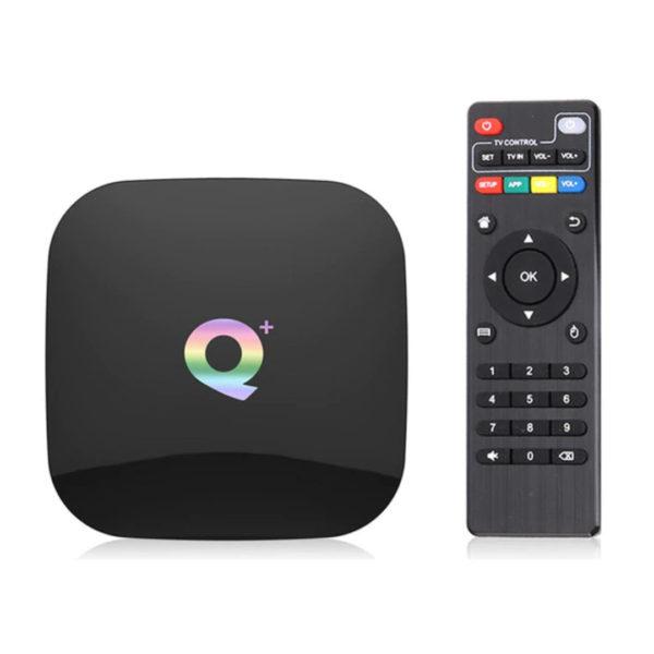 Q Plus tv box