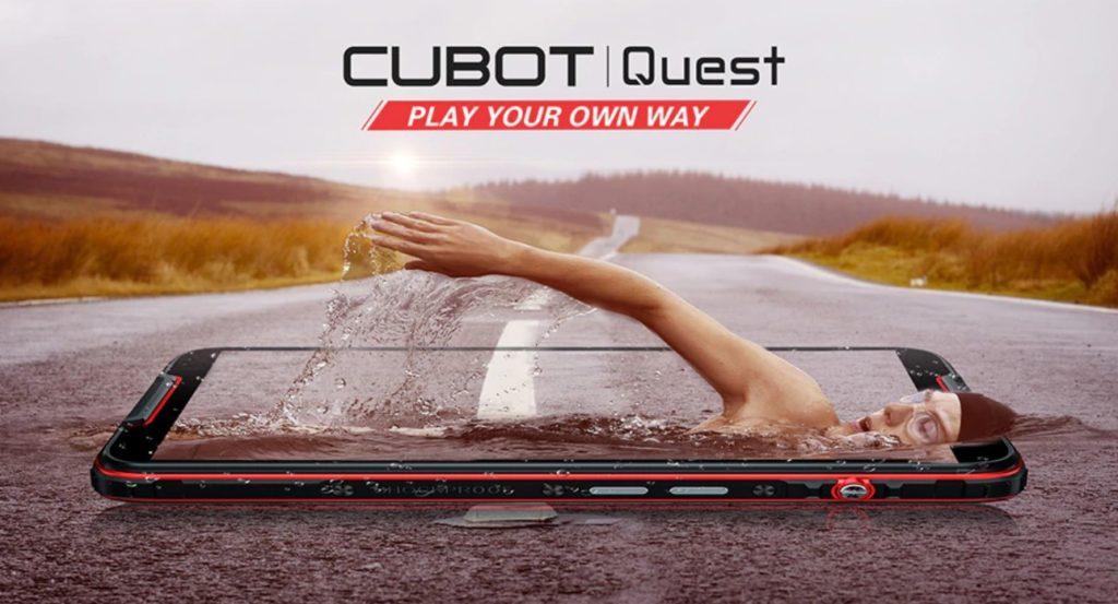 Cubot Quest - лучший смартфон в классе СПОРТфонов.