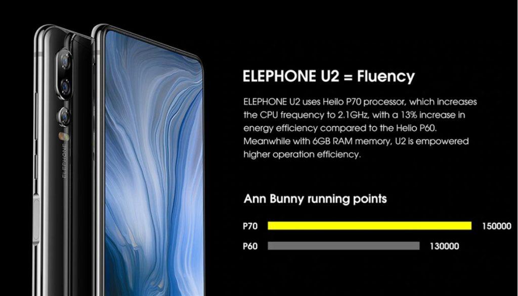 Elephone U2 - революция в области  селфи!