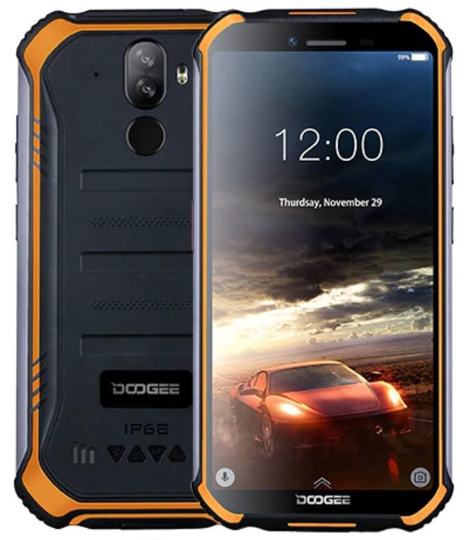 Doogee S40 - самый крепкий бюджетный смартфон