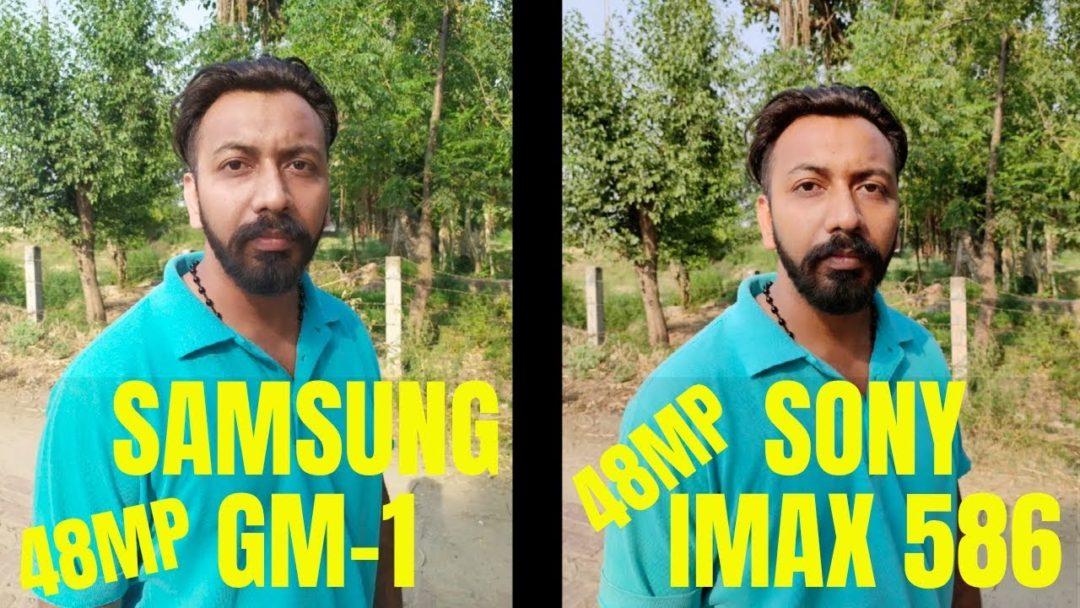 Сравнение снимков 48МП камер Samsung GM1 и Sony IMX586