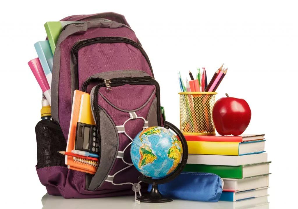 Собираем вещи для школы к 1 сентября