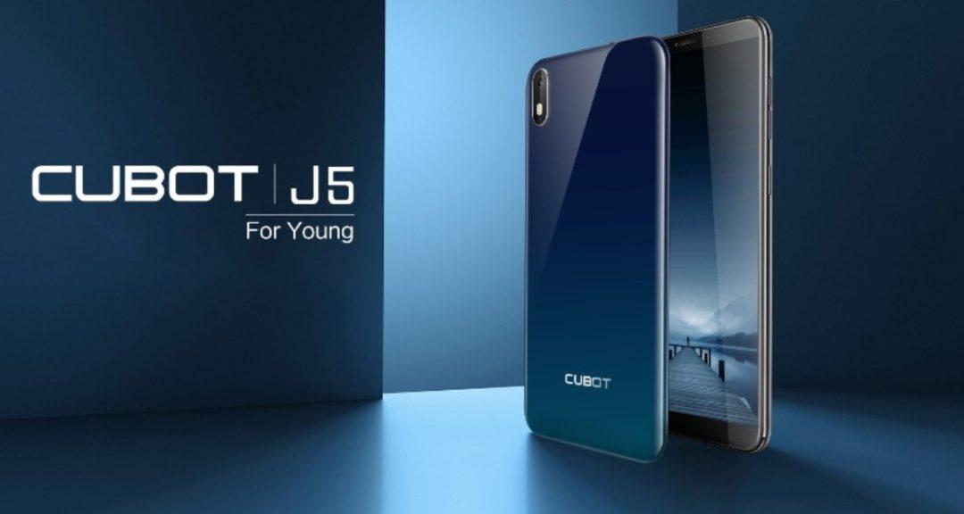 Cubot J5 - качественный и недорогой смартфон