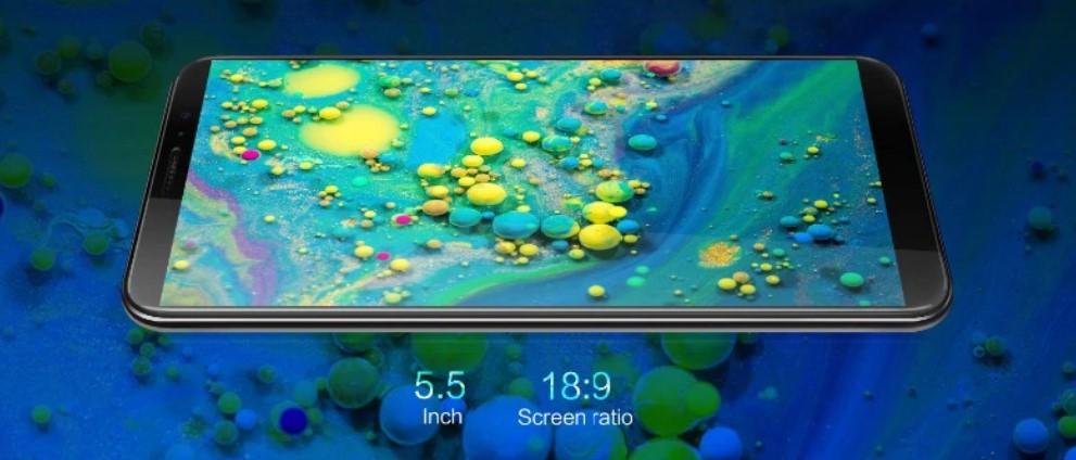 Cubot J5  экран 5.5 дюймов IPS