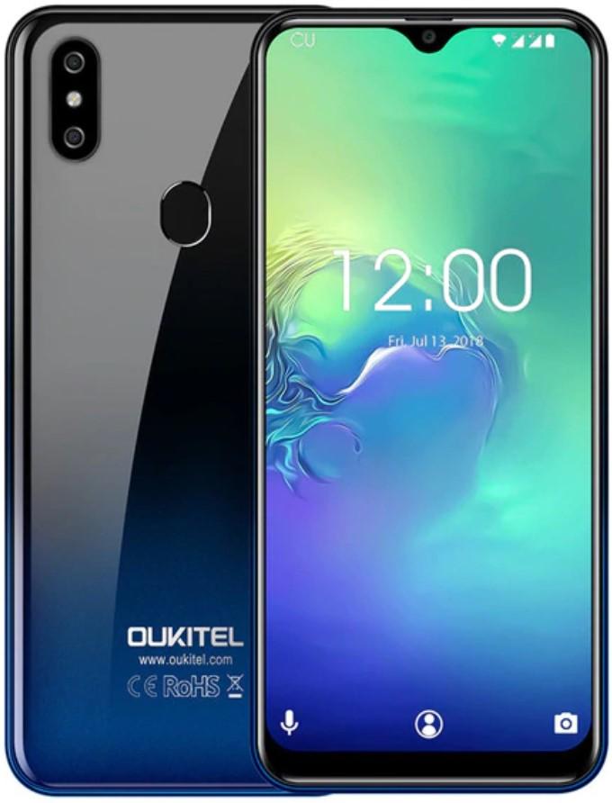 Oukitel C15 Pro+ самый стильный и недорогой смартфон