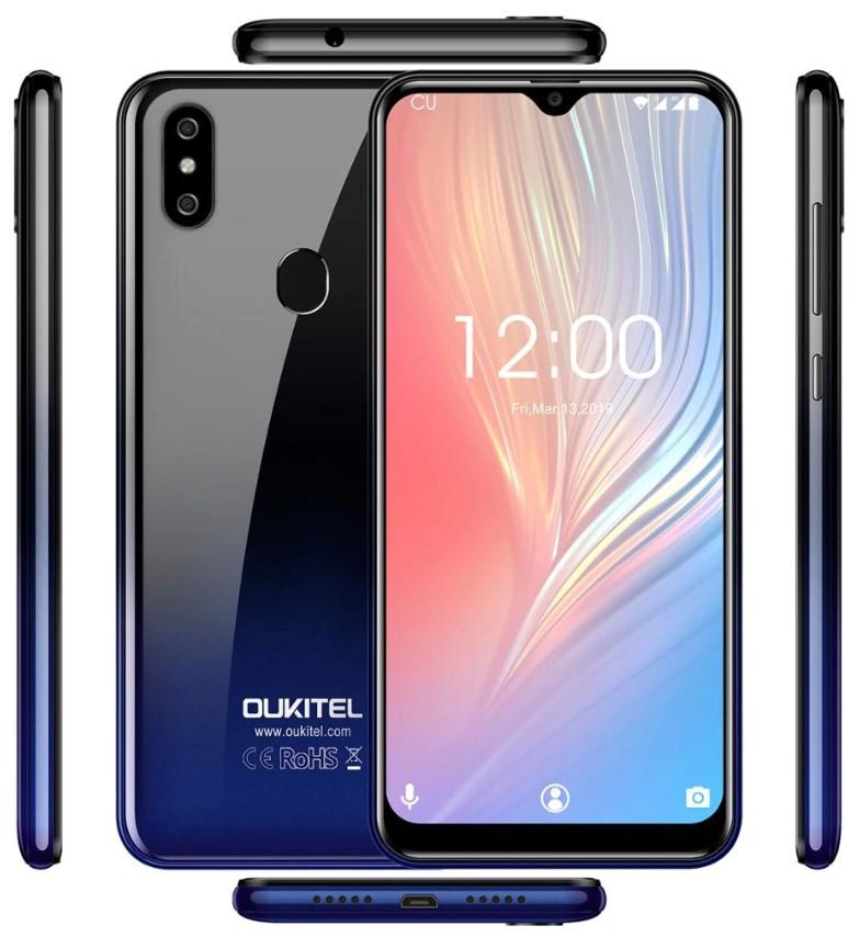 Oukitel C15 Pro Plus - вид со всех сторон