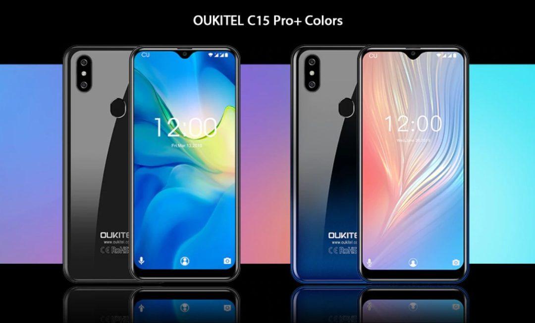 Oukitel C15 Pro + варианты цветов корпуса