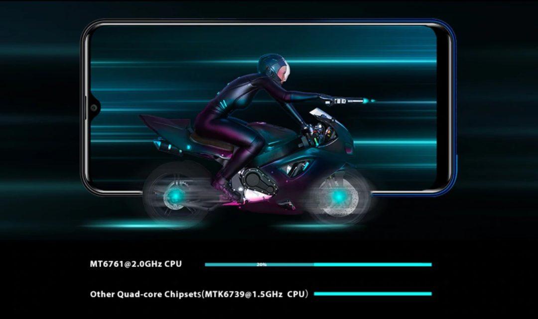 Oukitel C15 Pro Plus - отличный четырехъядерный процессор Helio A22