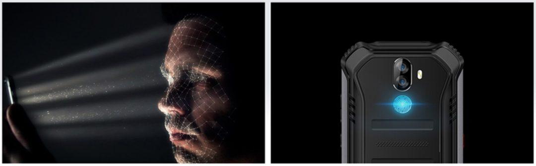 Doogee S40 функции Face Id и Fingerprint Id