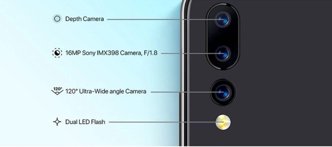 Основная камера Umidigi  A5 Pro